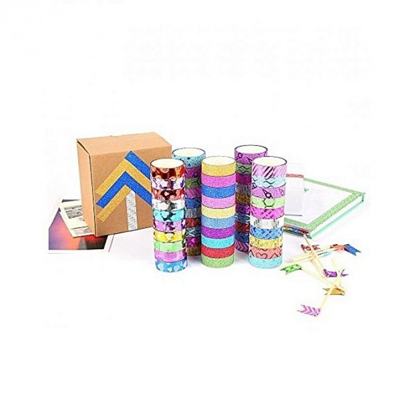 Le Shop Fancy Decorative Tapes (Pack Of 30 Tapes)