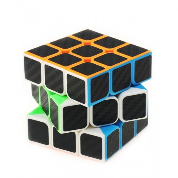 Le Shop New Magical Dotted Carbon Fiber 3X3 Speed Cube
