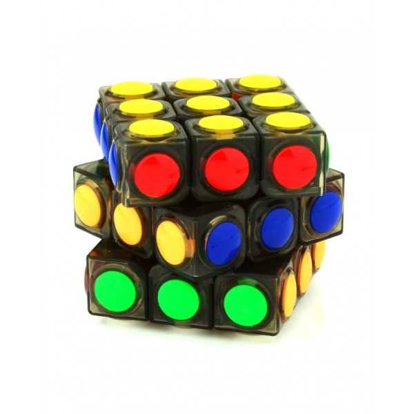 3x3x3 Dot Magic Cube Black