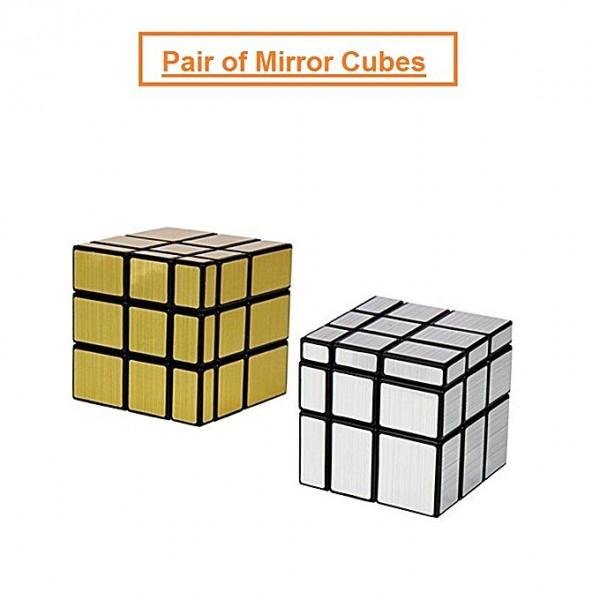 Brands 4 Kids Pair Of 3X3 Speed Mirror Cubes