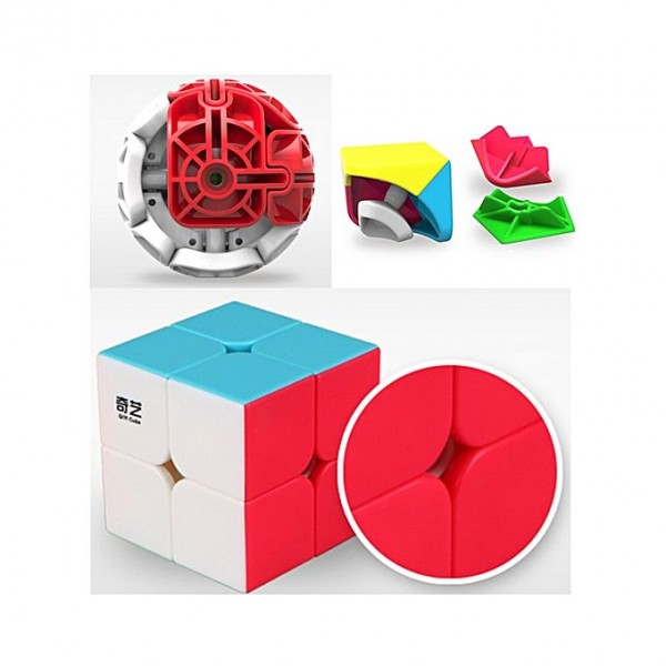 Puzzle Toys Speed Cube For Mind Challenge - 2X2X2
