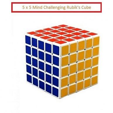 Puzzle Toys 5X5 Rubiks Cube For Mind Challenge - Mind Mathematics