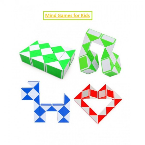 Snake Cube Mind Puzzle game (Imported)