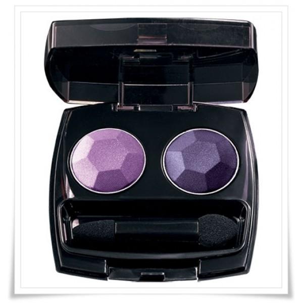 Avon Diamond sparkle violet voltage duo - Shimmery eye shadow