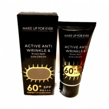 ACTIVE ANTI WRINKLE and BROWN SPOT SUN CREAM MAKE UP FOREVER