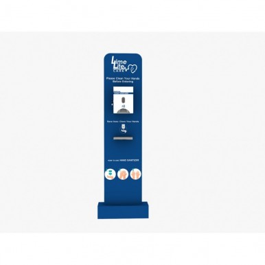 Manual Sanitizer Dispenser Pods with Cover Box