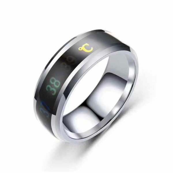 Thermometer Ring - temperature check through ring