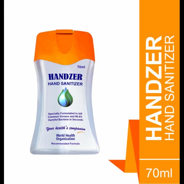 Horizon Pharma Handzer Sanitizer 70ml (Pack of 5)