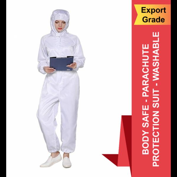 Body Safe - Parachute Protection Suit - Washable - Export Grade