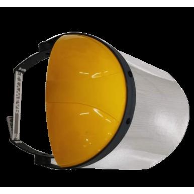 Premium Professional Hard Visor Face Shield- Pack of 2