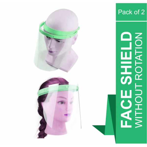 Face Shield without rotation - Pack of 2