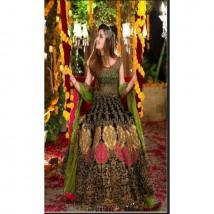 Heavy Chiffon Embroidery Unstitched Dress For Women