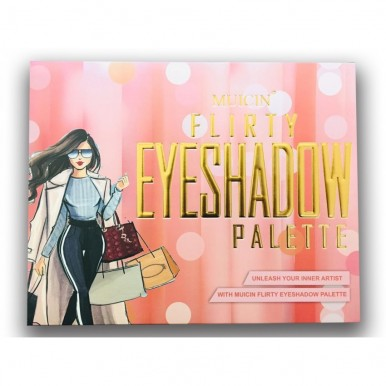 Flirty Eyeshadow Palette 63 colors  Kit