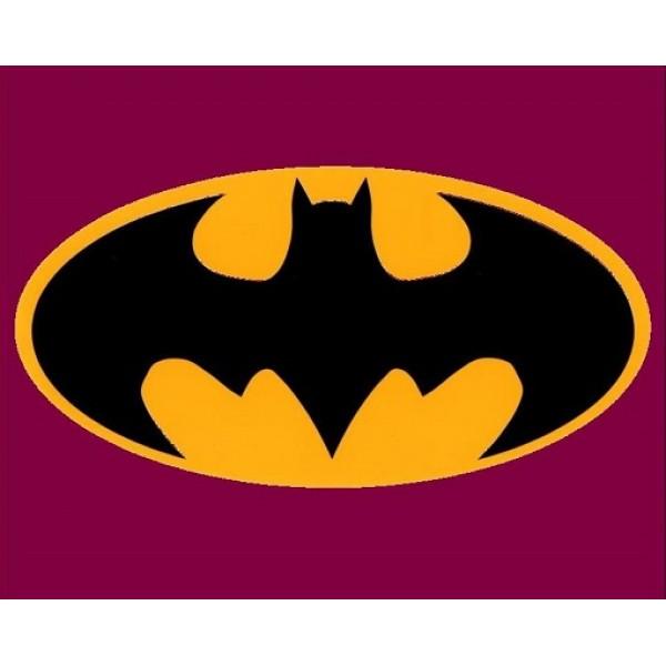 Batman logo art designs room,doors decoration for gift for kids,boys and girls