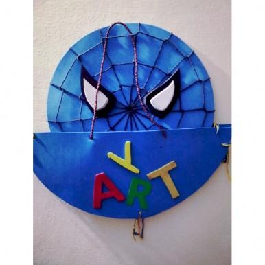 Spiderman blue kids & school rooms