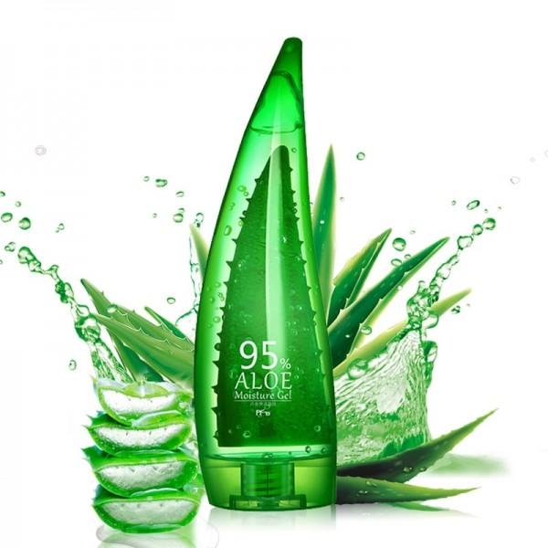 Aloe Vera gel absorbs easily-for oily skin