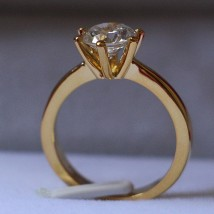 22k gold plated ring