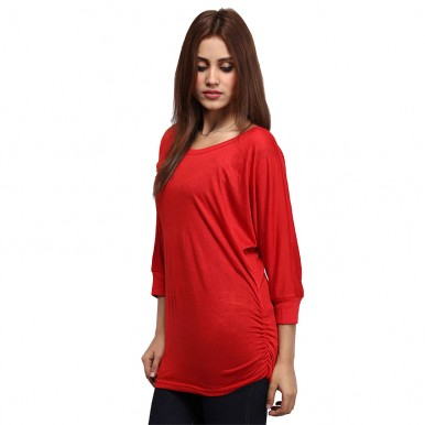 marck and jack red dolmen top for her