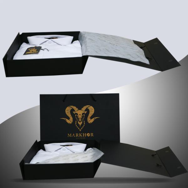 Royal White Chambray Cotton Slim Fit Formal Shirt For Men