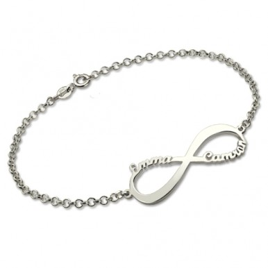 Customized Name Bracelet In Silver TG-575