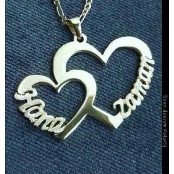 Personalized Heart Shaped Necklace