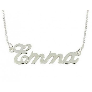 Customized Name Necklace in Golden and Silver