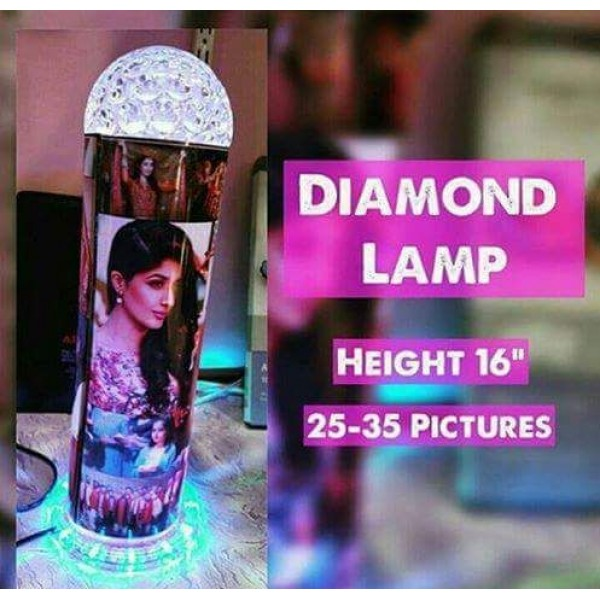Customized Diamond LED Lamp