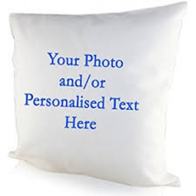 Design your own Personalised Cushion-Full Cushion Print