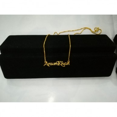 Customized Name Necklace-Gold Color