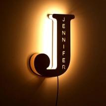 Alphabetic Lamp Customized