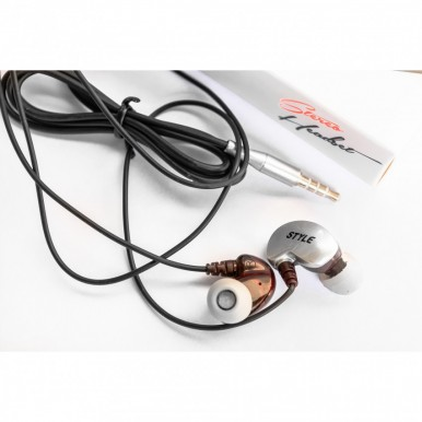 Style Super Deep Bass Earphones Handsfree with Microphone With Clear Audio For Music And Calling