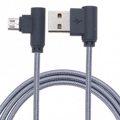 1 Meter Micro USB 3.0 Fast Charging Cable For All Brands - Grey
