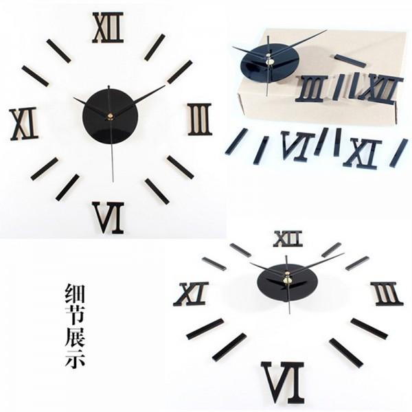 Roman 3D Clock