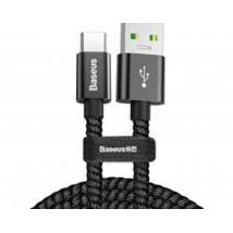 Baseus CATKC-A01 5A USB To USB-C Type-C Dual-Model Fast Charging Cable Cable Length 1m