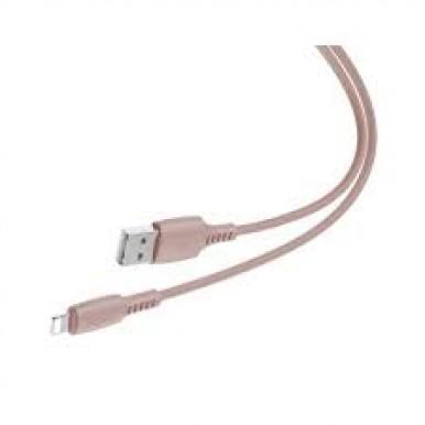 BASEUS CABLE USB / LIGHTNING 2.4A 1.2M Pink (CALDC-04)