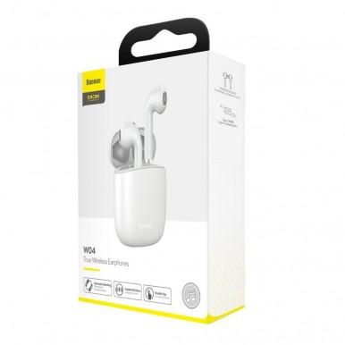 Baseus Encok True Wireless Earphones White (NGW04-02)