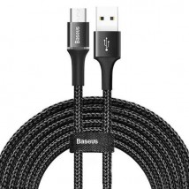 Baseus Halo Data Cable USB for micro 2A 3 meter black CAMGH-E01