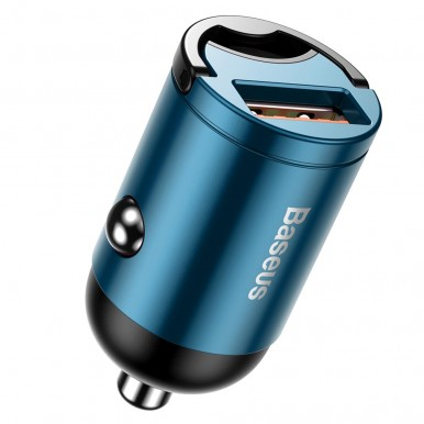 Baseus Tiny Star PD 3.0 Mini Car Charger, Fast Charger for iPhone 11 Pro Max X Xs Xr 30W - VCHX-A03- Blue