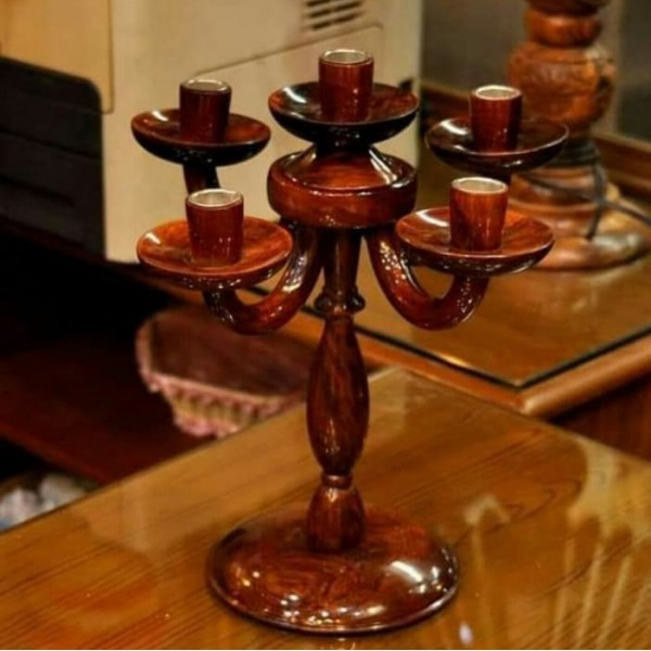 Wooden Candle Base Holder Multi Candlestick Holder Stand Home Decoration Candle stand