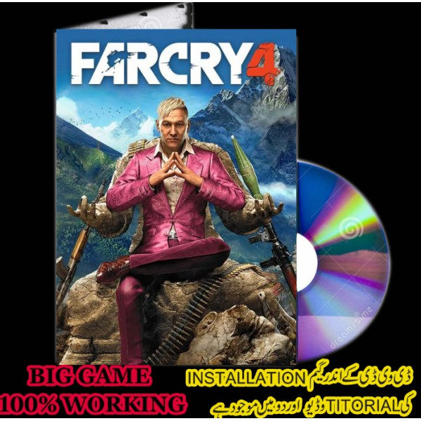 Far Cry 4 - Pc Game - Dvd Disc 3 Full Game Online And Offline
