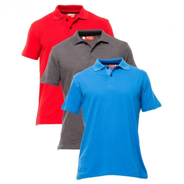 Pack Of Three Polo T-Shirts For Him - FREE DELIVERY