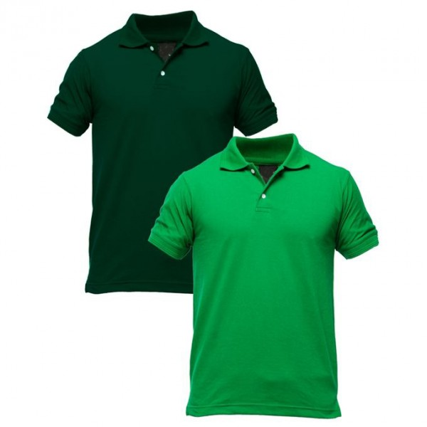 Pack Of 2 Polo T-Shirts For HIM - FREE DELIVERY