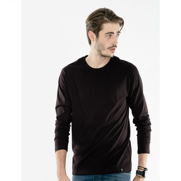 Black Full Sleves T-Shirt For Him - FREE DELIVERY