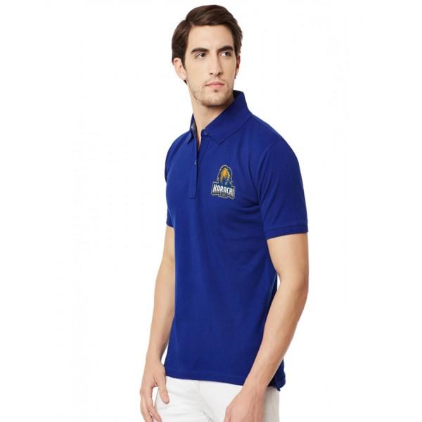 Karachi King PSL Polo T-Shirt