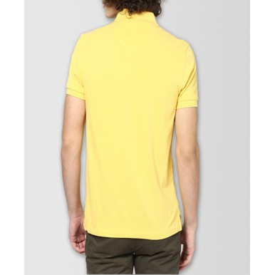 Yellow Polo T-shirt For Him - FREE DELIVERY