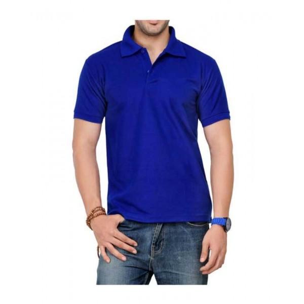 Dark Blue Polo T-Shirt For Him