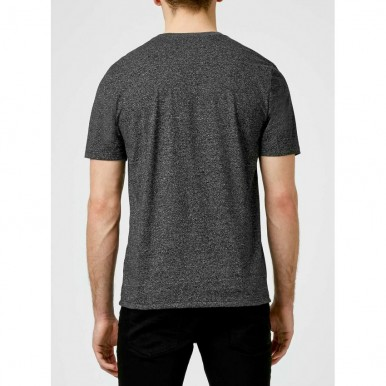 Plain Dark Grey T-Shirt For Him - FREE DELIVERY