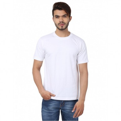 Pack Of 3 Multi-Colors Plain T-Shirt - FREE DELIVERY