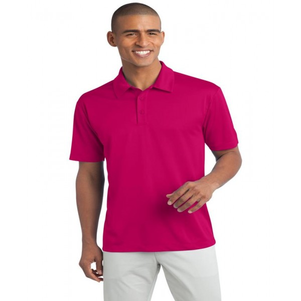 Pink Polo T-Shirt For Him - FREE DELIVERY