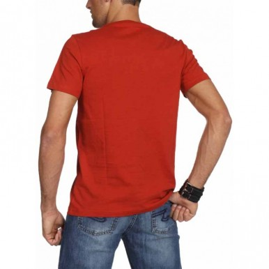 Plain Red T-Shirt For Him - FREE DELIVERY